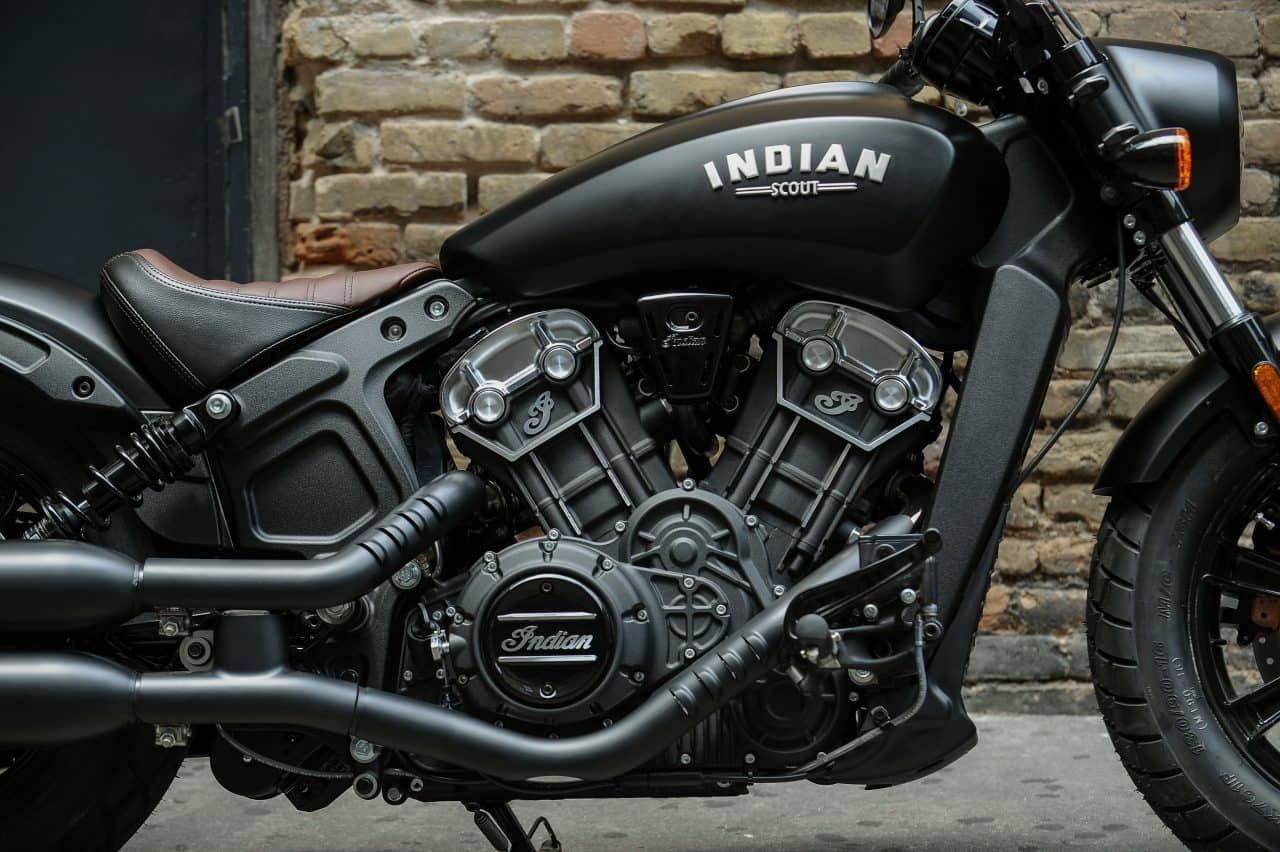 Closeup of an Indian Motorcycle - Used Indians